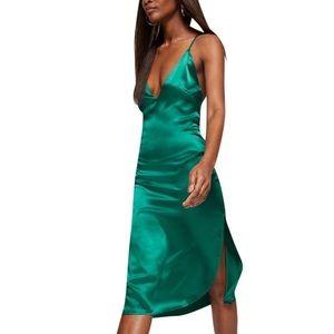 Reformation Liza Dress Jade size 8